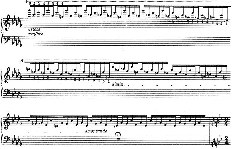 リスト「ハンガリー狂詩曲第6番変ニ長調S.244-6」ピアノ楽譜7