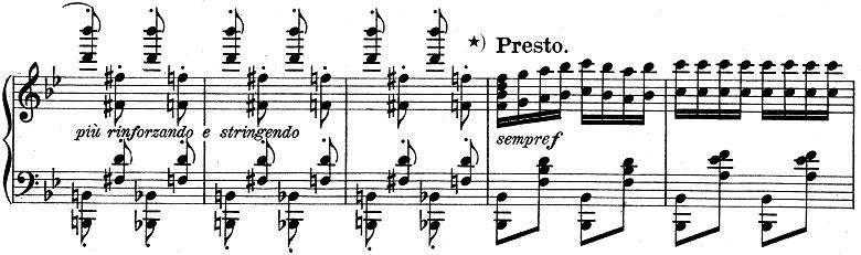 リスト「ハンガリー狂詩曲第6番変ニ長調S.244-6」ピアノ楽譜9