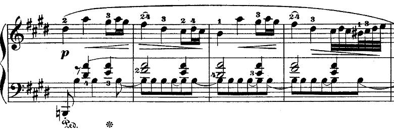ショパンポロネーズ「第1番嬰ハ短調Op.26-1」ピアノ楽譜4