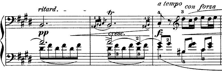 ショパンポロネーズ「第1番嬰ハ短調Op.26-1」ピアノ楽譜5