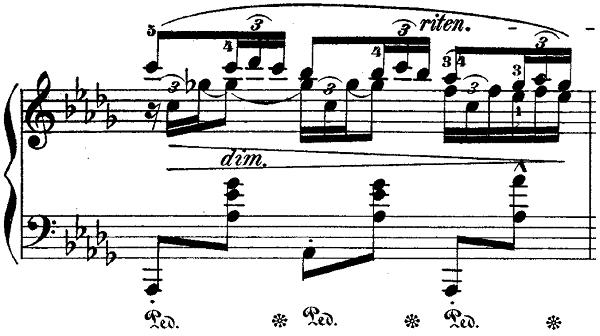 ショパンポロネーズ「第1番嬰ハ短調Op.26-1」ピアノ楽譜7