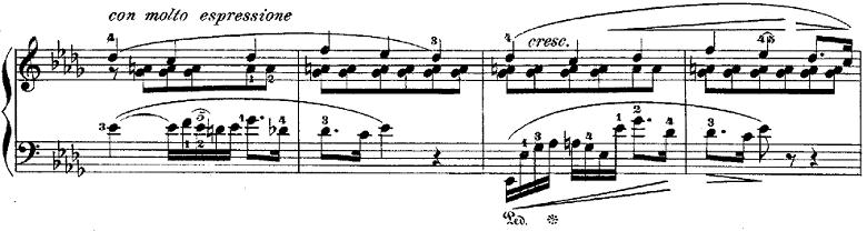 ショパンポロネーズ「第1番嬰ハ短調Op.26-1」ピアノ楽譜9