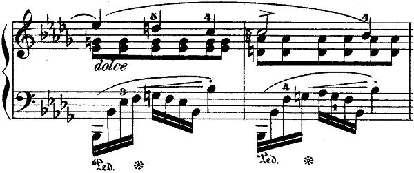 ショパンポロネーズ「第1番嬰ハ短調Op.26-1」ピアノ楽譜10