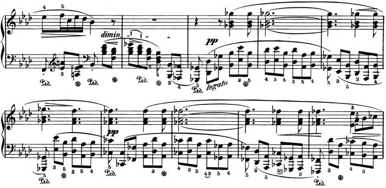 ショパン「バラード第4番ヘ短調Op.52」ピアノ楽譜3