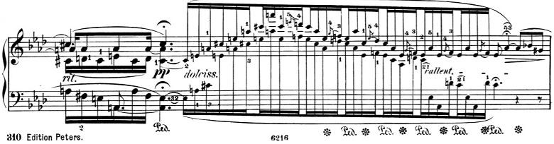 ショパン「バラード第4番ヘ短調Op.52」ピアノ楽譜8