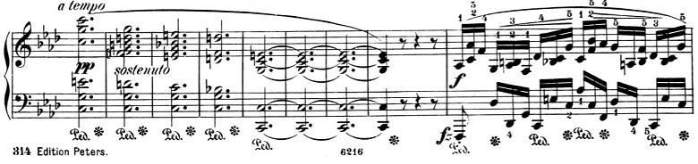 ショパン「バラード第4番ヘ短調Op.52」ピアノ楽譜10
