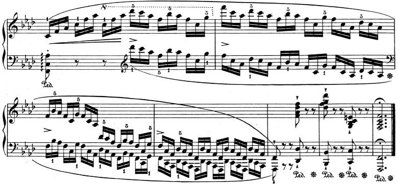 ショパン「バラード第4番ヘ短調Op.52」ピアノ楽譜12
