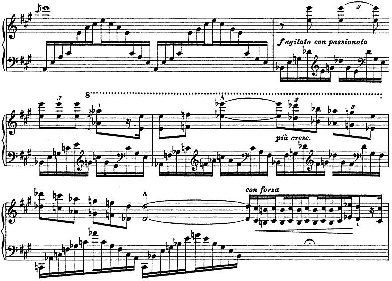 リスト「3つの演奏会用練習曲第3曲「ため息」変ニ長調S.144-3」ピアノ楽譜11