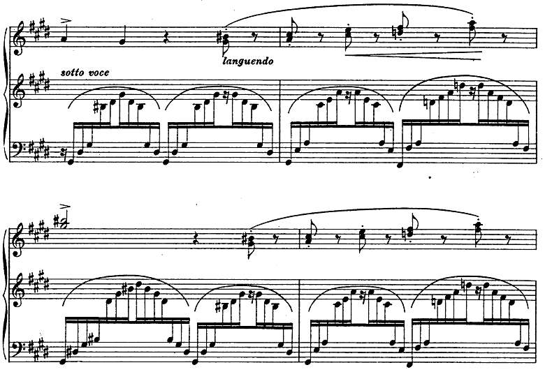 リスト「3つの演奏会用練習曲第3曲「ため息」変ニ長調S.144-3」ピアノ楽譜15