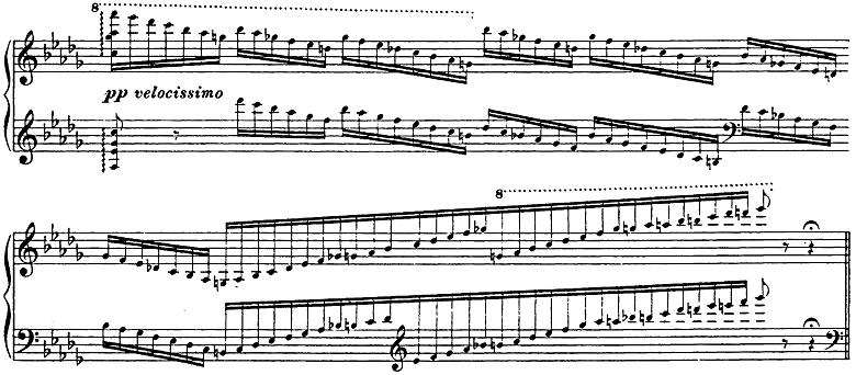 リスト「3つの演奏会用練習曲第3曲「ため息」変ニ長調S.144-3」ピアノ楽譜18