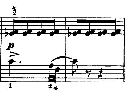 エルメンライヒ 音楽の風俗画 第5曲「紡ぎ歌」ヘ長調Op.14-5 ピアノ楽譜5