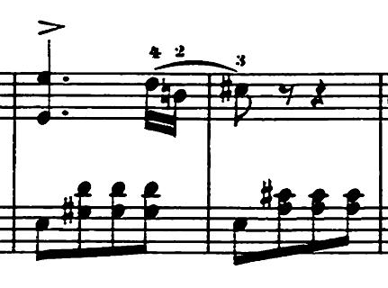 エルメンライヒ 音楽の風俗画 第5曲「紡ぎ歌」ヘ長調Op.14-5 ピアノ楽譜6