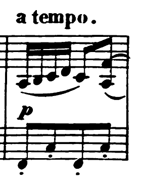 エルメンライヒ 音楽の風俗画 第5曲「紡ぎ歌」ヘ長調Op.14-5 ピアノ楽譜7