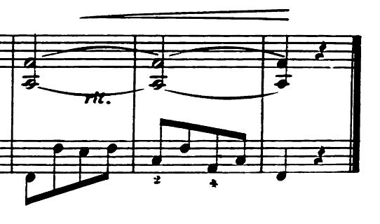 エルメンライヒ 音楽の風俗画 第5曲「紡ぎ歌」ヘ長調Op.14-5 ピアノ楽譜8