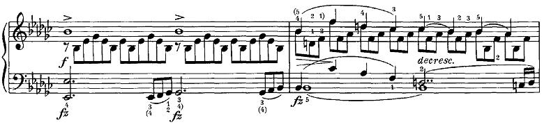 シューベルト「即興曲第3番op.90-3」ピアノ楽譜4