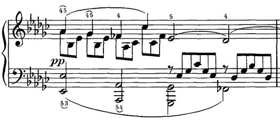 シューベルト「即興曲第3番op.90-3」ピアノ楽譜5