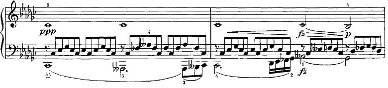シューベルト「即興曲第3番op.90-3」ピアノ楽譜6