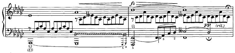 シューベルト「即興曲第3番op.90-3」ピアノ楽譜9