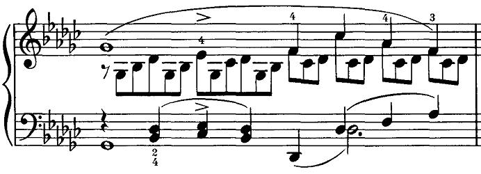 シューベルト「即興曲第3番op.90-3」ピアノ楽譜11