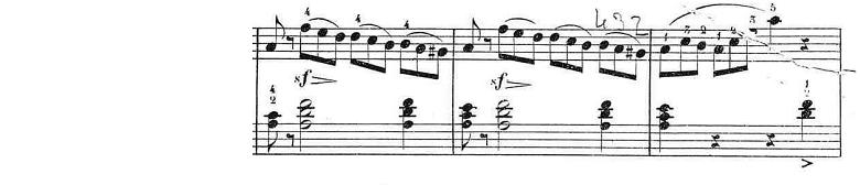 ブルグミュラー「25の練習曲第12番「さようなら」イ短調Op.100-12」ピアノ楽譜6