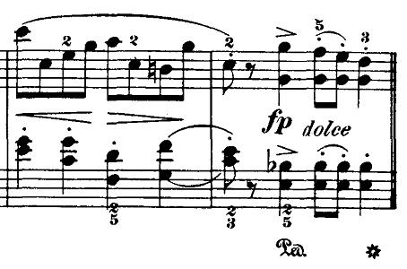 ブルグミュラー「18の練習曲第4番「ジプシー」ハ短調Op.109-4」ピアノ楽譜3