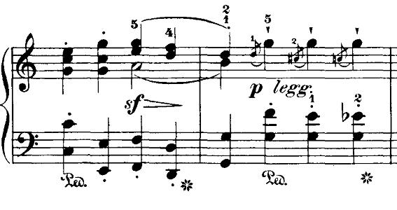 ブルグミュラー「18の練習曲第4番「ジプシー」ハ短調Op.109-4」ピアノ楽譜7