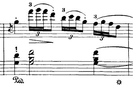 ブルグミュラー「18の練習曲第4番「ジプシー」ハ短調Op.109-4」ピアノ楽譜8