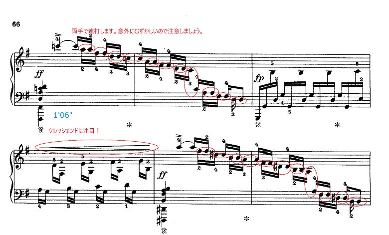 グリーグ組曲「ホルベアの時代から(ホルベルク組曲)」Op.40プレリュード(前奏曲) ピアノ楽譜3