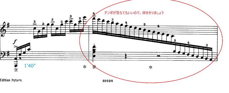 グリーグ組曲「ホルベアの時代から(ホルベルク組曲)」Op.40プレリュード(前奏曲) ピアノ楽譜4