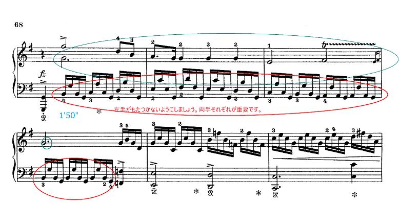 グリーグ組曲「ホルベアの時代から(ホルベルク組曲)」Op.40プレリュード(前奏曲) ピアノ楽譜5
