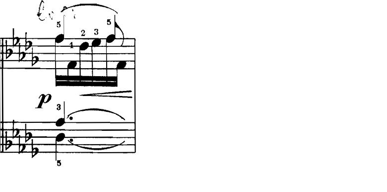 シューマン「飛翔」(幻想小曲集op.12-2)ピアノ楽譜2