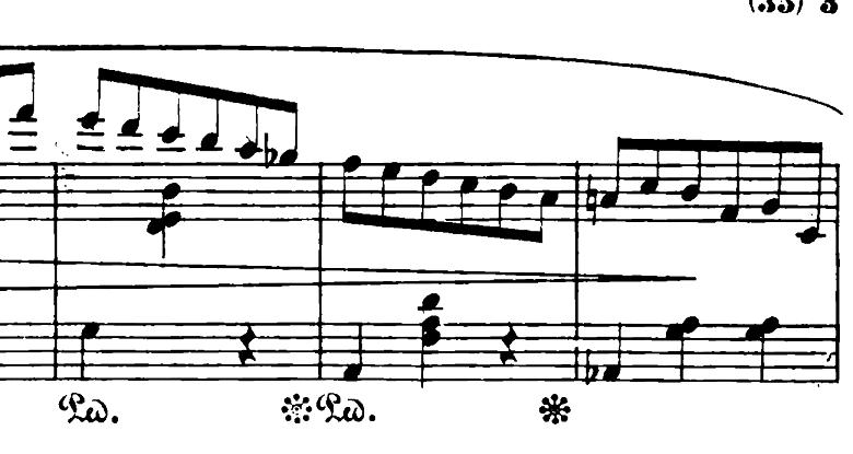 ショパン「ワルツ第6番『子犬のワルツ』変ニ長調Op.64-1」ジェットコースターで降りる部分2のピアノ楽譜