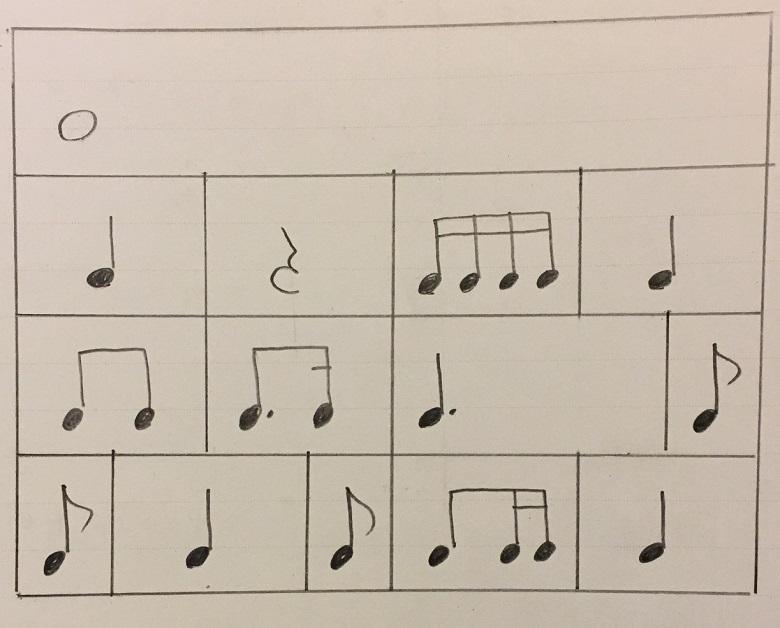 ピアノリズム練習2
