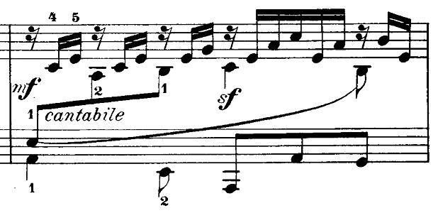 メンデルスゾーン「無言歌集第3巻第6曲「デュエット」変イ長調Op.38-6」ピアノ楽譜2