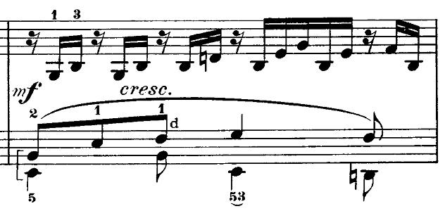 メンデルスゾーン「無言歌集第3巻第6曲「デュエット」変イ長調Op.38-6」ピアノ楽譜4