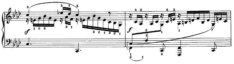 メンデルスゾーン「無言歌集第3巻第6曲「デュエット」変イ長調Op.38-6」ピアノ楽譜6