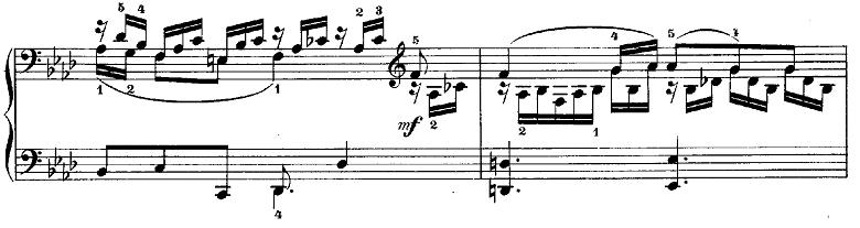 メンデルスゾーン「無言歌集第3巻第6曲「デュエット」変イ長調Op.38-6」ピアノ楽譜7
