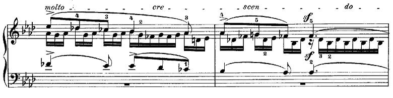 メンデルスゾーン「無言歌集第3巻第6曲「デュエット」変イ長調Op.38-6」ピアノ楽譜8