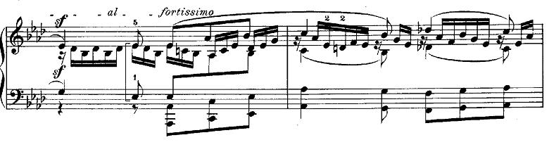 メンデルスゾーン「無言歌集第3巻第6曲「デュエット」変イ長調Op.38-6」ピアノ楽譜9