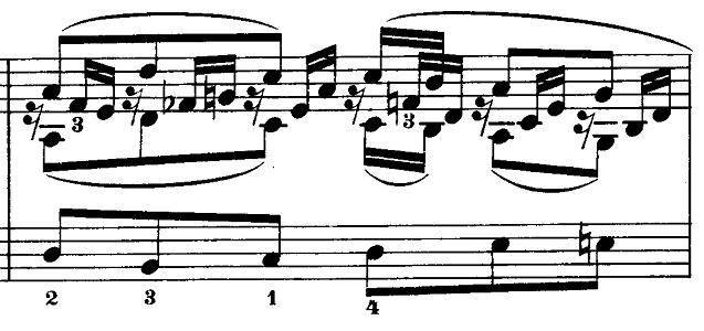 メンデルスゾーン「無言歌集第3巻第6曲「デュエット」変イ長調Op.38-6」ピアノ楽譜10