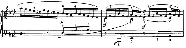 メンデルスゾーン「無言歌集第3巻第6曲「デュエット」変イ長調Op.38-6」ピアノ楽譜11
