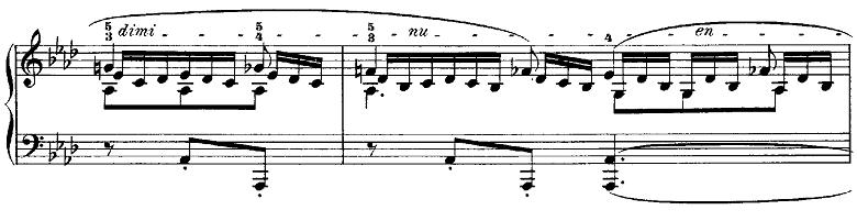 メンデルスゾーン「無言歌集第3巻第6曲「デュエット」変イ長調Op.38-6」ピアノ楽譜12
