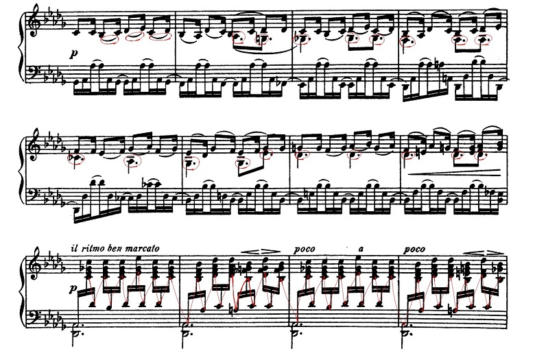 バラキレフ「東洋風幻想曲「イスラメイ」変ニ長調Op.18」ピアノ楽譜6