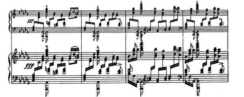 バラキレフ「東洋風幻想曲「イスラメイ」変ニ長調Op.18」ピアノ楽譜12