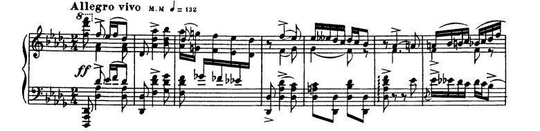 バラキレフ「東洋風幻想曲「イスラメイ」変ニ長調Op.18」ピアノ楽譜13