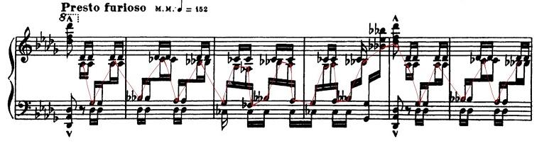 バラキレフ「東洋風幻想曲「イスラメイ」変ニ長調Op.18」ピアノ楽譜14