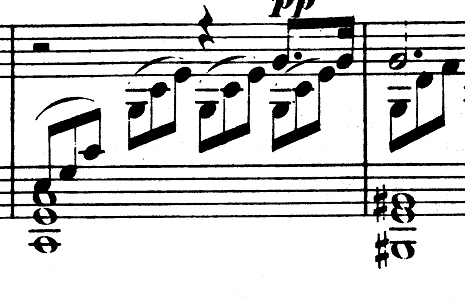ベートーヴェン「ピアノソナタ第14番「月光ソナタ(幻想曲風ソナタ)」嬰ハ短調Op.27-2第1楽章」ピアノ楽譜1
