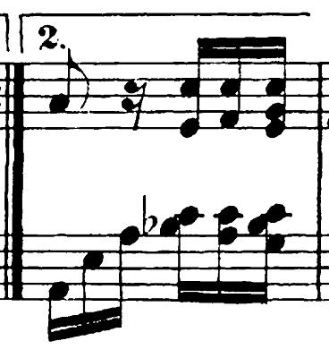 ベートーヴェン「バガテル第25番「エリーゼのために」イ短調WoO.59」ピアノ楽譜3