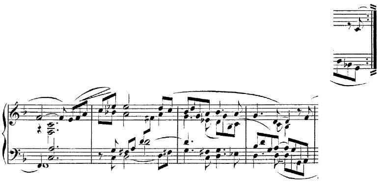 シューマン「トロイメライ」ヘ長調Op.15-7ピアノ楽譜4