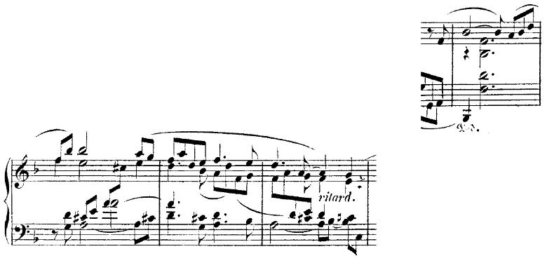 シューマン「トロイメライ」ヘ長調Op.15-7ピアノ楽譜5